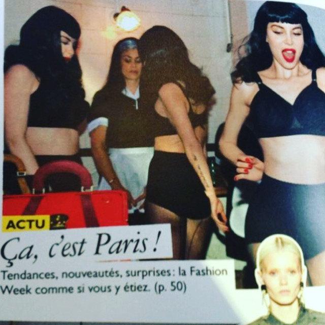 Grazia- Paris Fashion Week