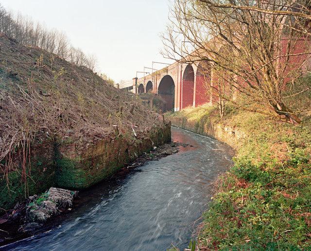 River Irk, Collyhurst, Manchester