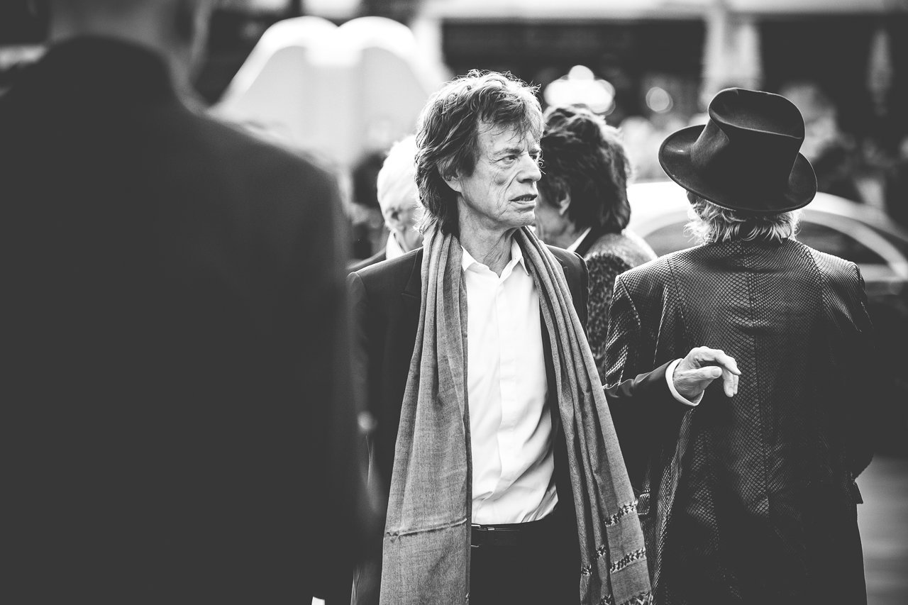 Mick Jagger at 'The Rolling Stones: Exhibitionism'