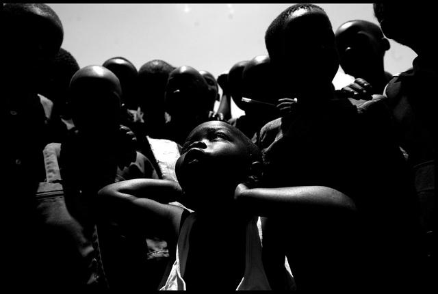 RDC - camp de réfugiés dans la région des grands l