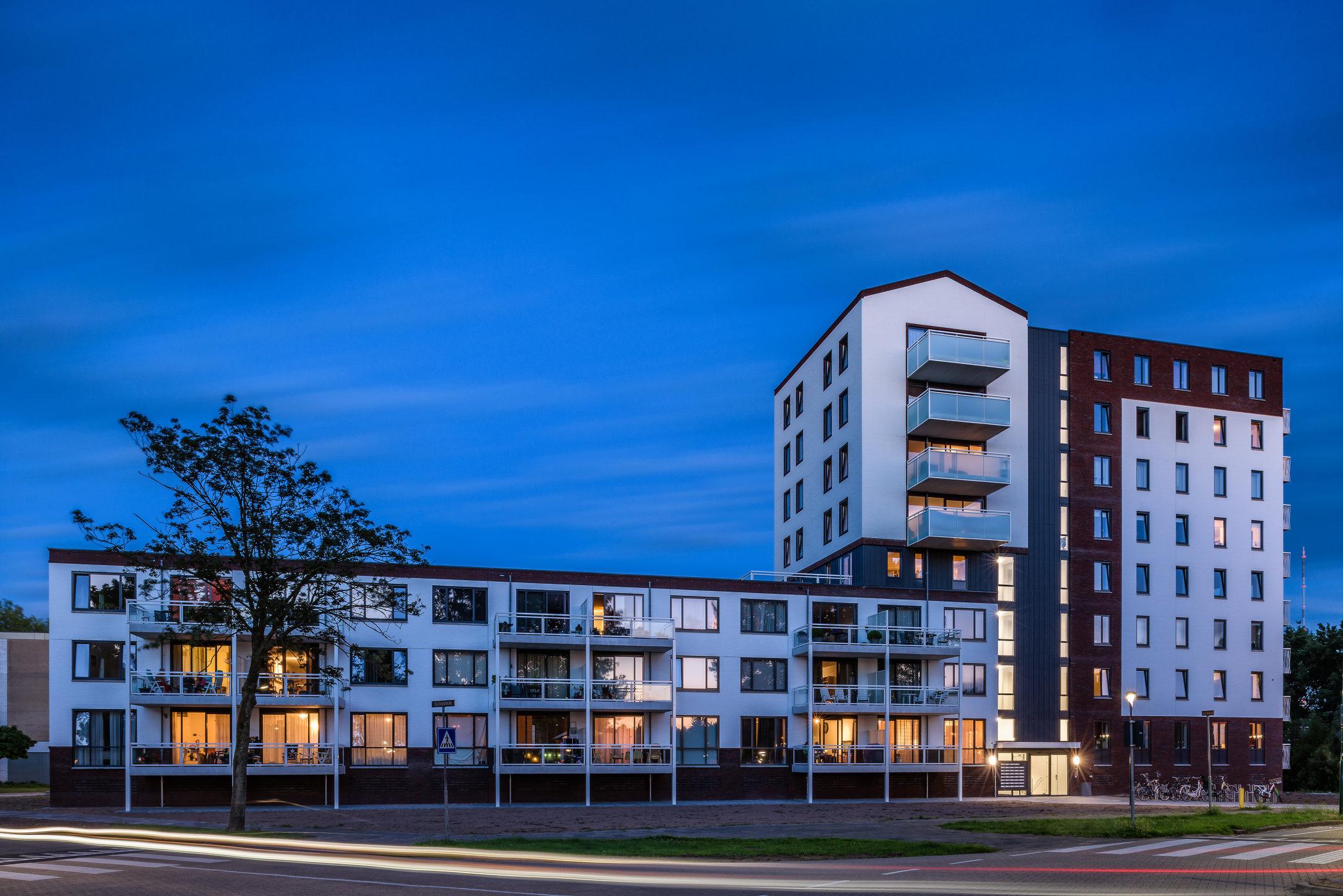 Appartementencomplex aan De Baan, IJsselstein