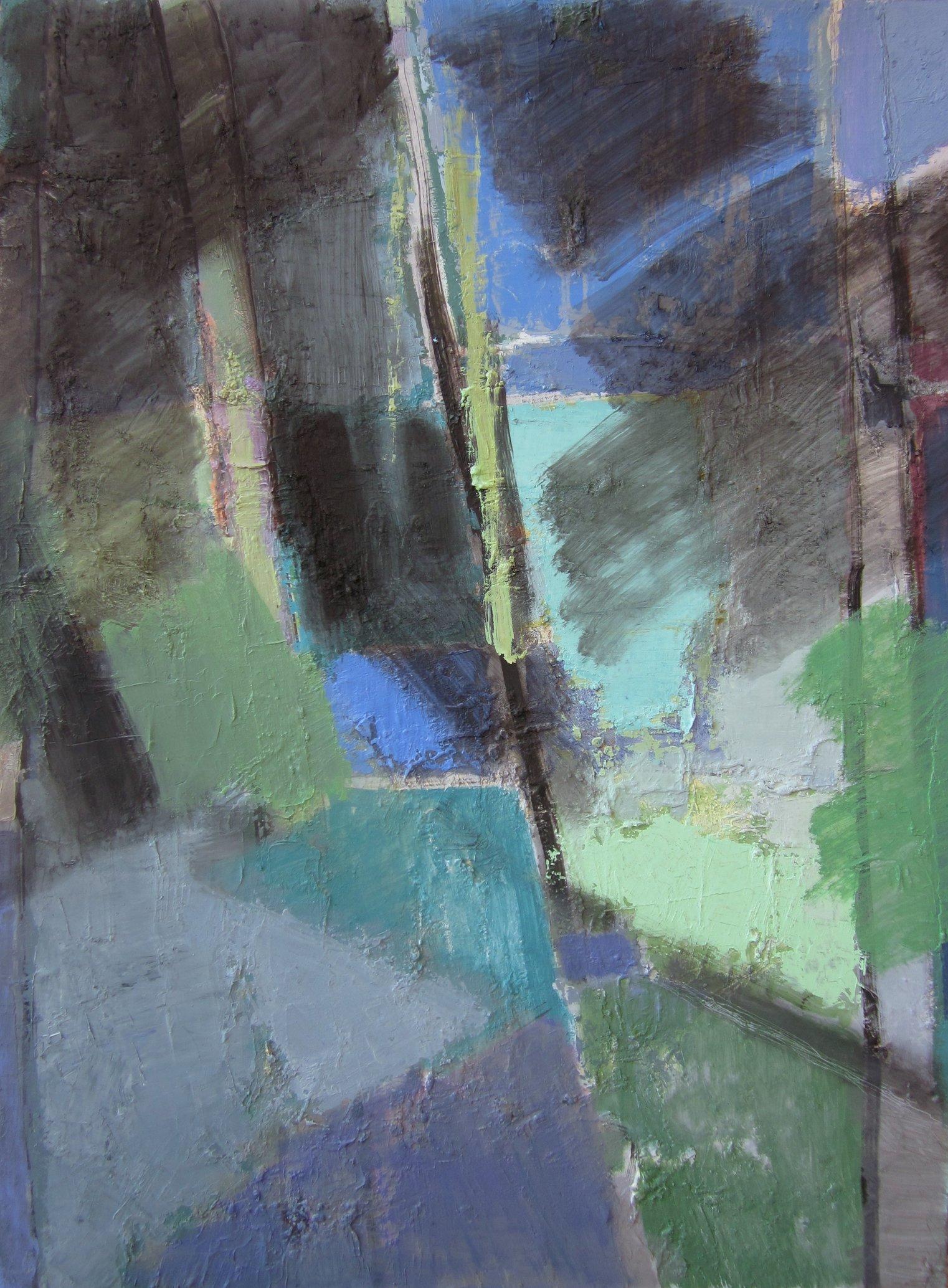 'Garden I' 2016 oil on canvas 100x75cm