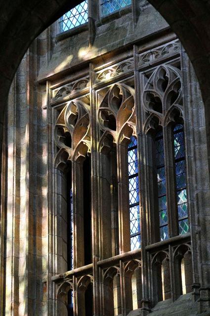 Fenêtres ouest de l'église