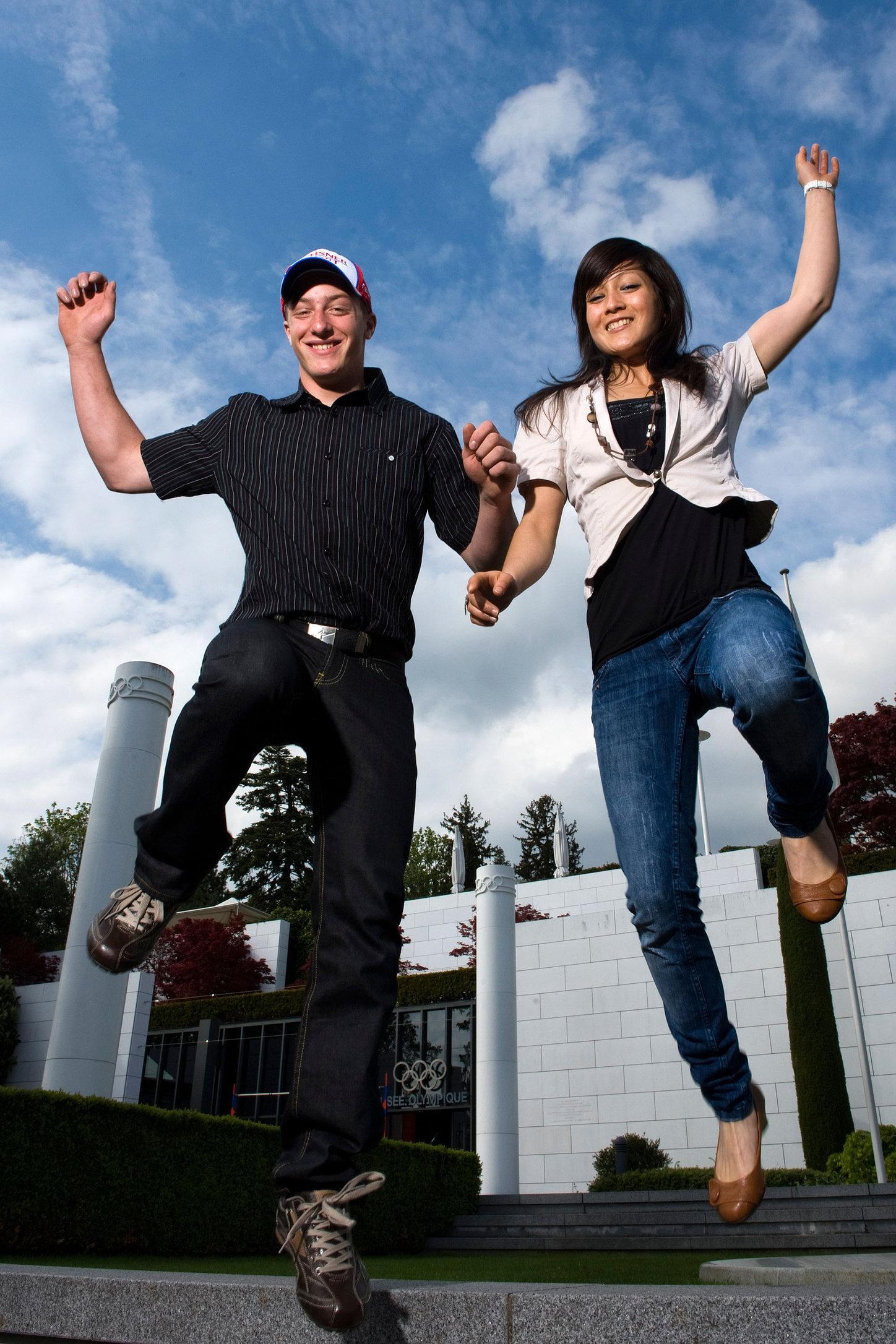Katherine Choong &  Justin Murisier - Lausanne - 2010
