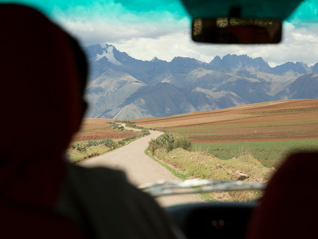 the drive to maras at over 12,000' elevation