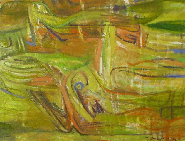 Abstrakcja2 120x80 olej płótno