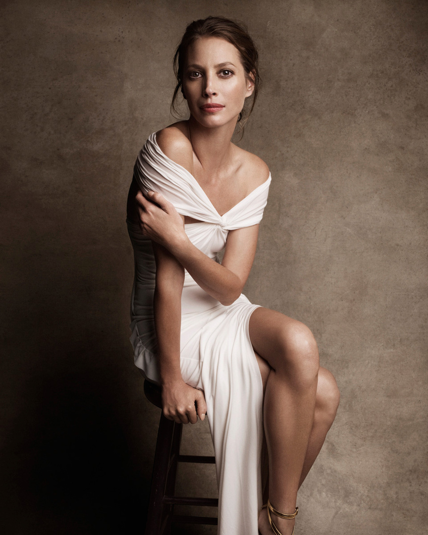 Harper's Bazaar. Christy Turlington. Fashion For a Cause, January 2011
