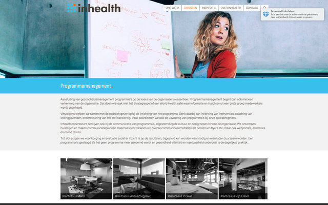 Photography for inhealth