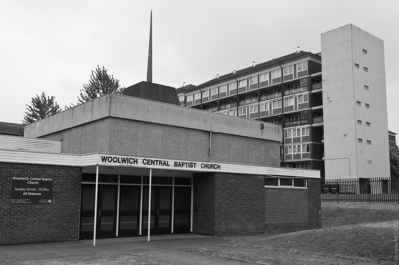 Woolwich Central Baptist Church, 2009