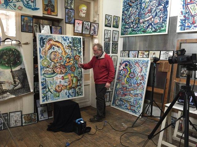 Atelier van Fred Bervoets