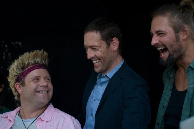Sean Astin, Mark Polish & Josh Holloway
