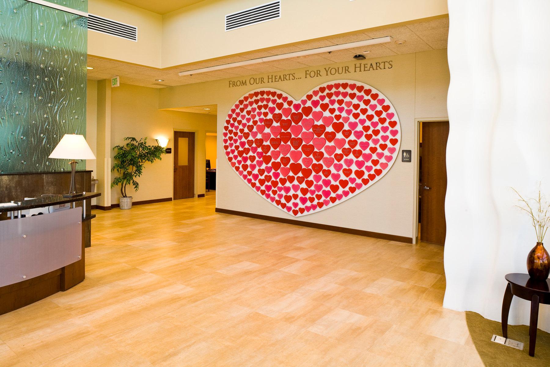 Bethesda Heart Hospital Wall of Honor