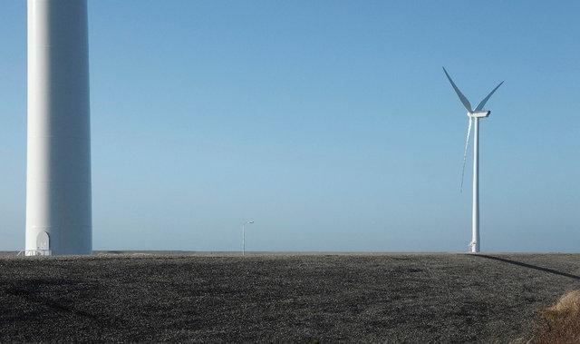 windmolen op dijk