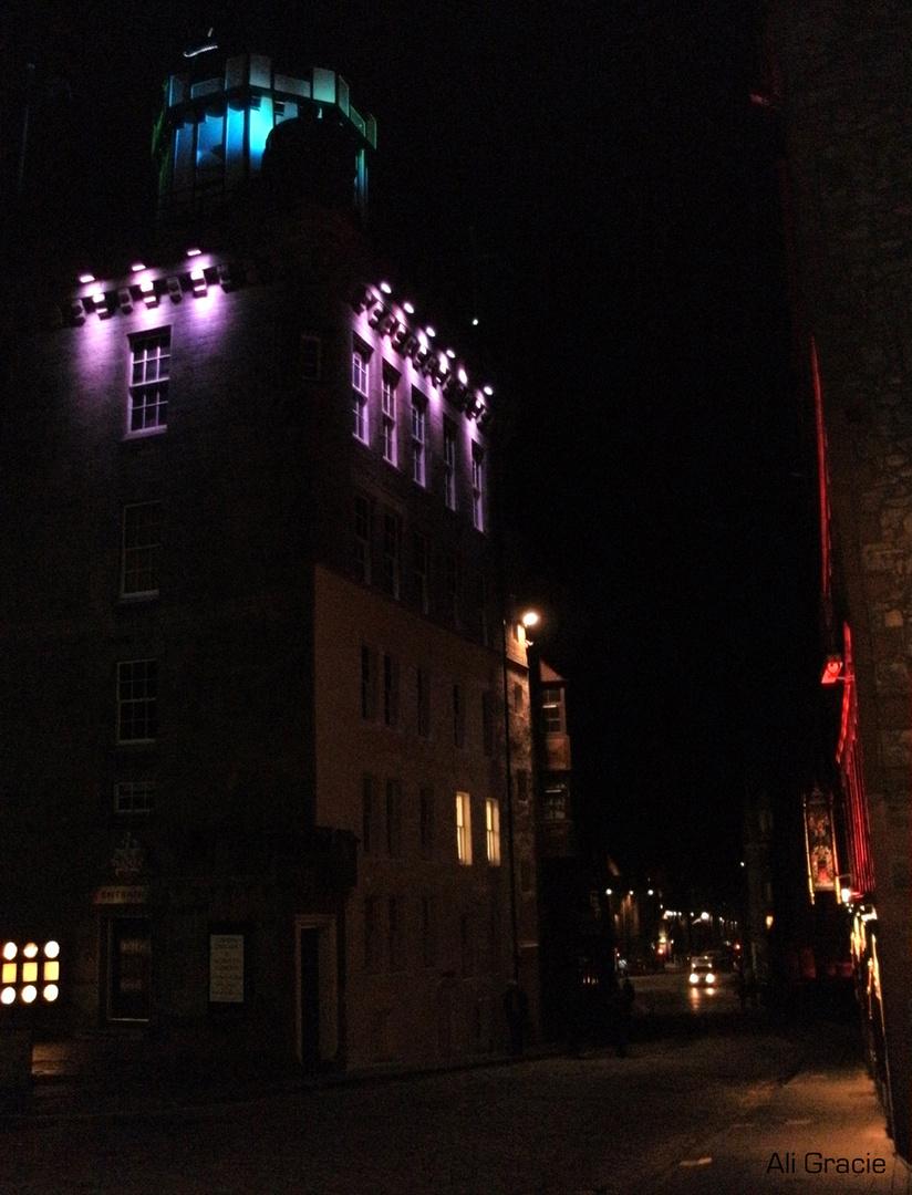 Edinburgh Night by Alison Gracie