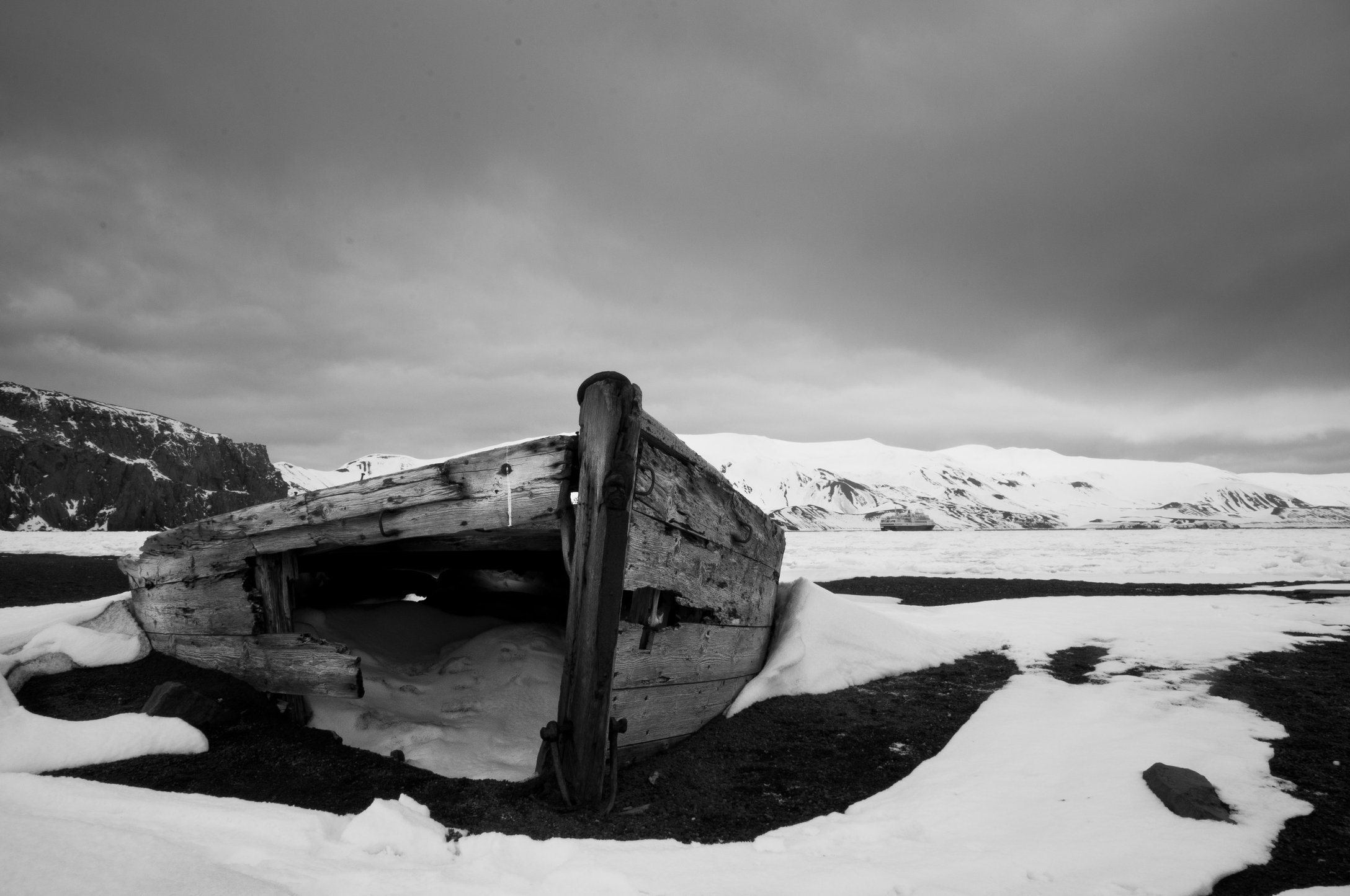 Water boat-Whalers Bay, Deception Island, Antarctica.jpg