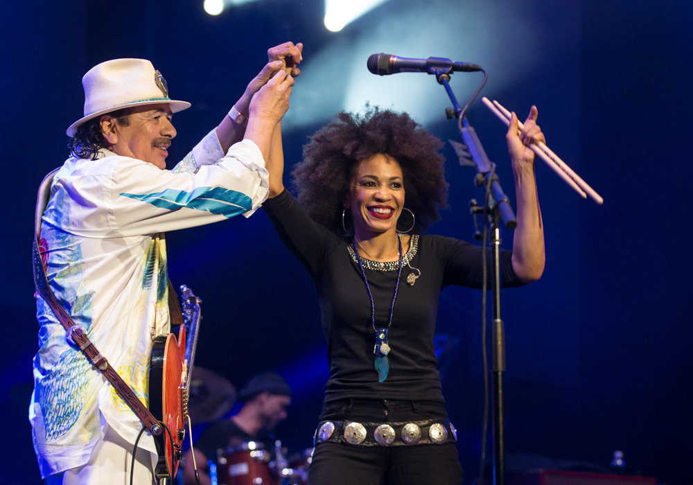 Carlos and Cindy Blackman Santana
