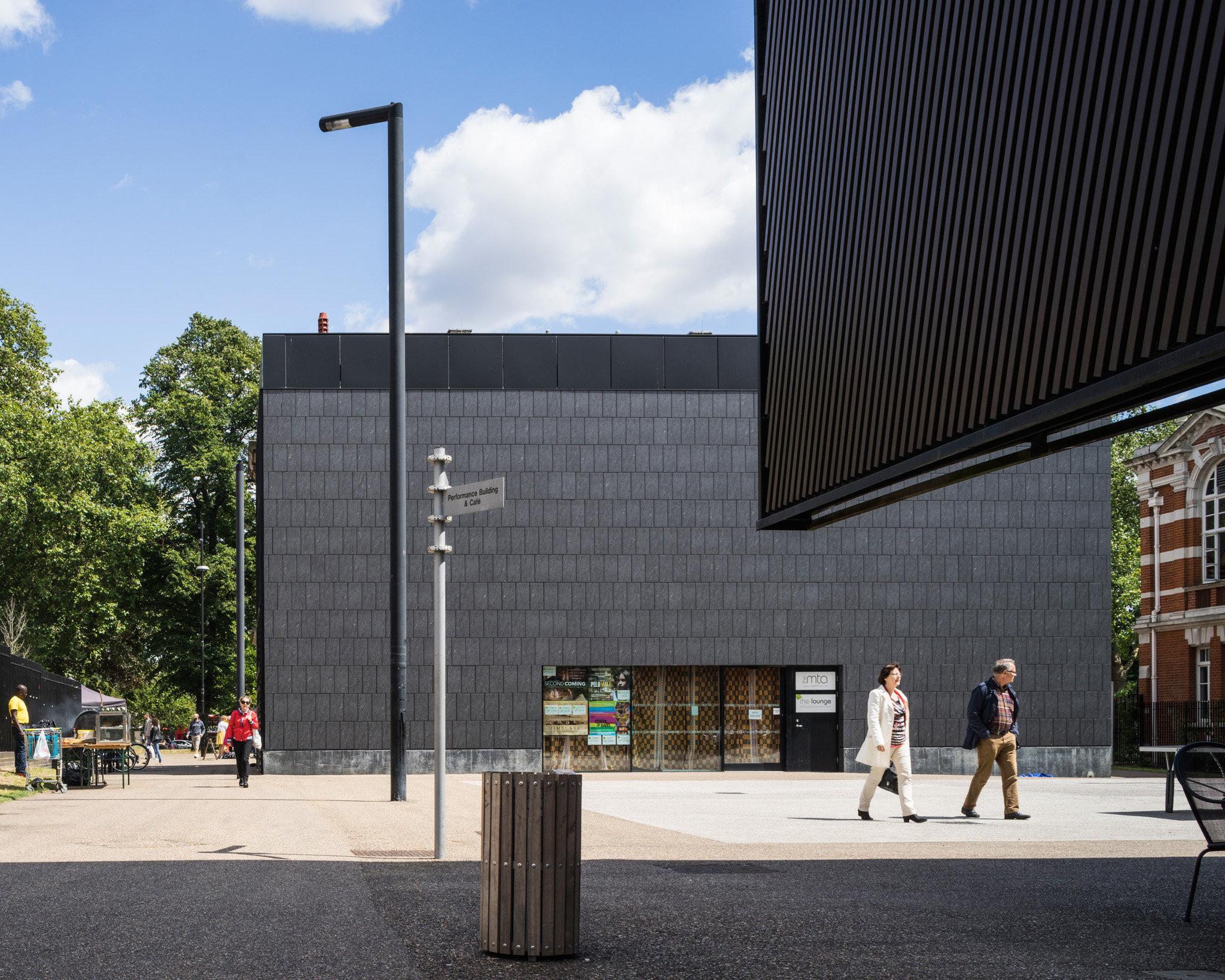 Tottenham Green. Adams and Sutherland and David Adjaye Architects