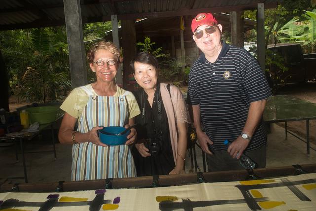 Margot Homburg, Kanchana & Bill Whorton