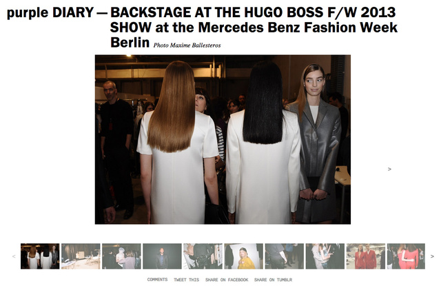 purple DIARY   BACKSTAGE AT THE HUGO BOSS F W 2013 SHOW at the Mercedes Benz Fashion Week Berlin.jpg