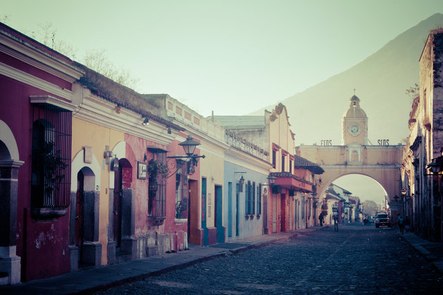Antigua at Sunrise