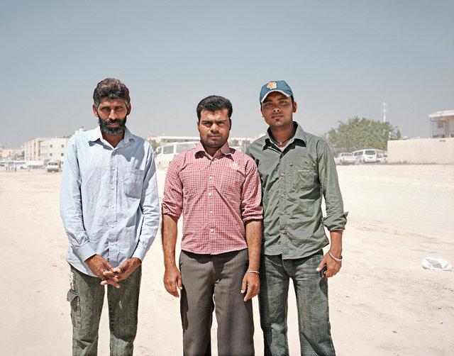 Bangladeshi workers, Sonapur