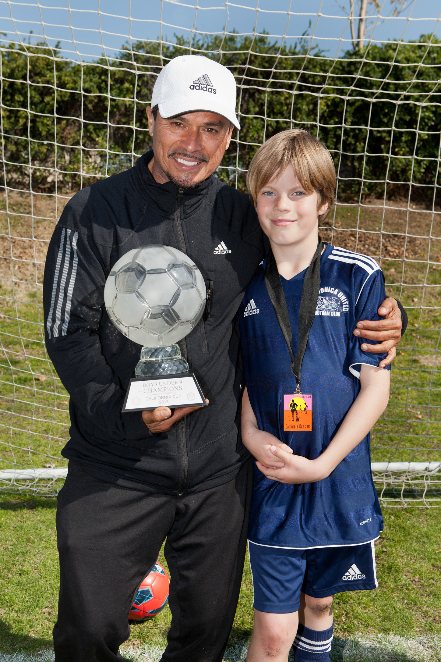 Coach Nico and Viggo Ostoya