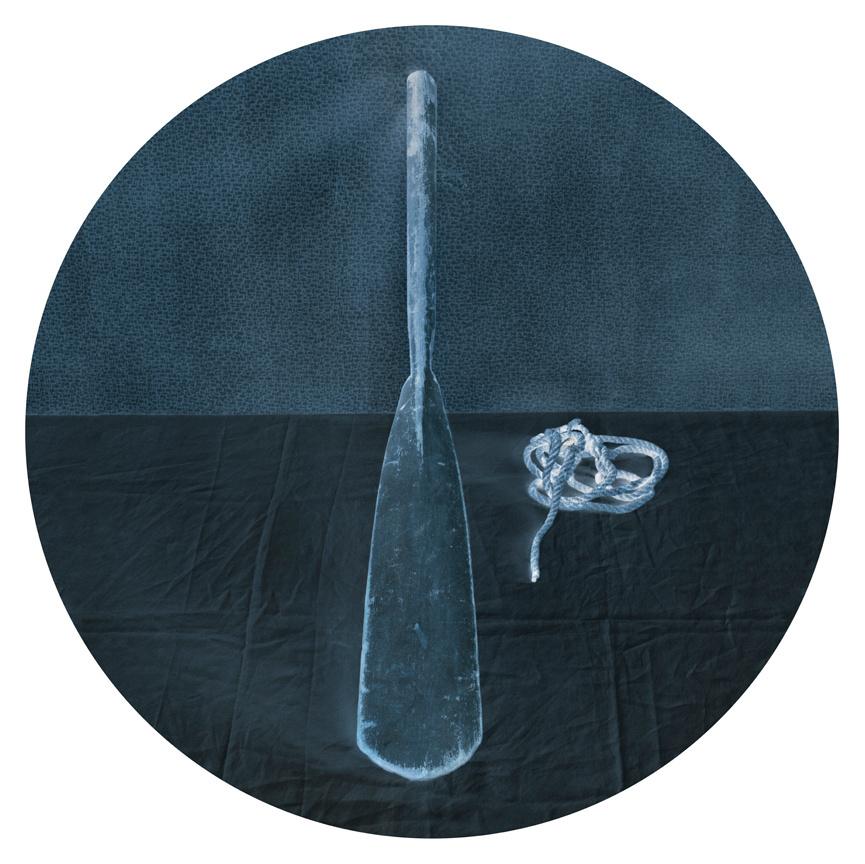 Oar (Blue), 2011