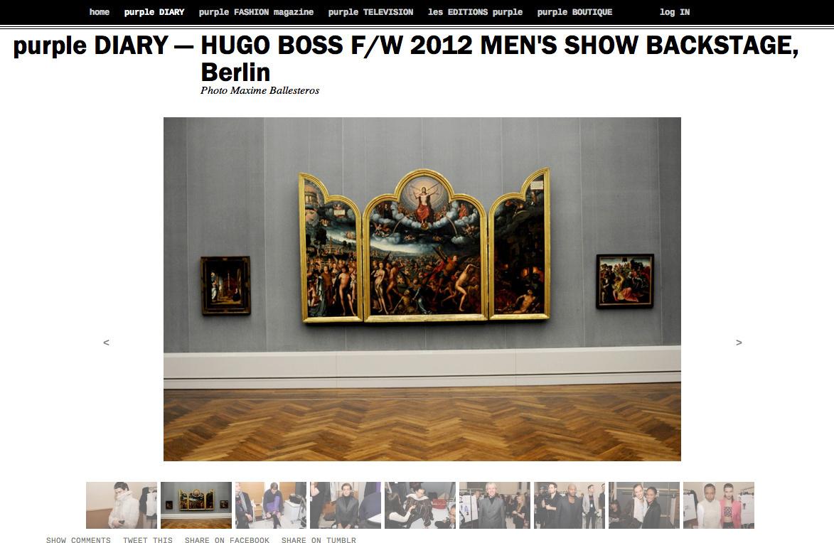 purple DIARY   HUGO BOSS F W 2012 MEN S SHOW BACKSTAGE  Berlin.png
