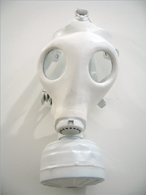 """Have a nice day"" British Gas mask"