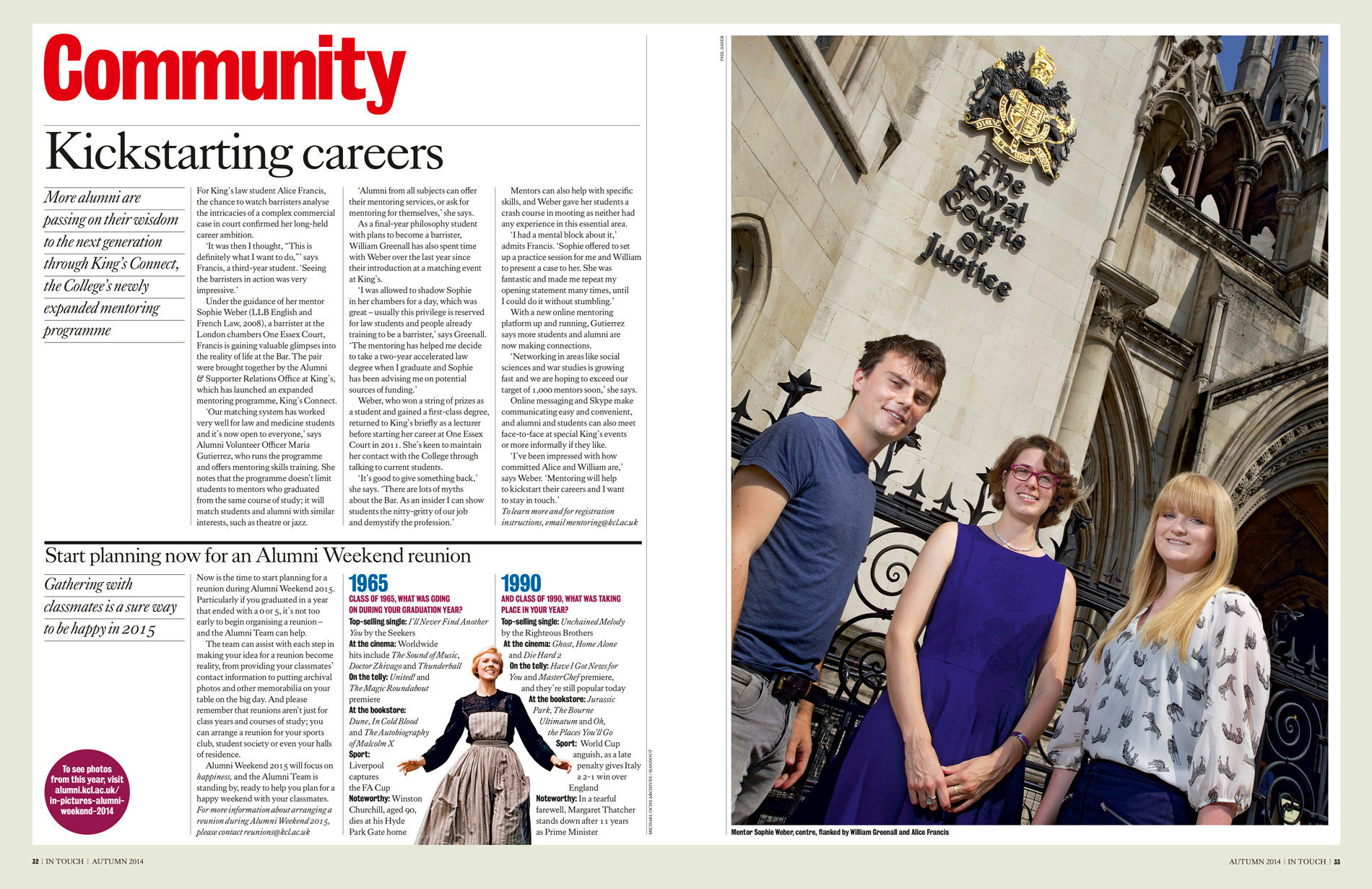 King's InTouch Autumn 2014