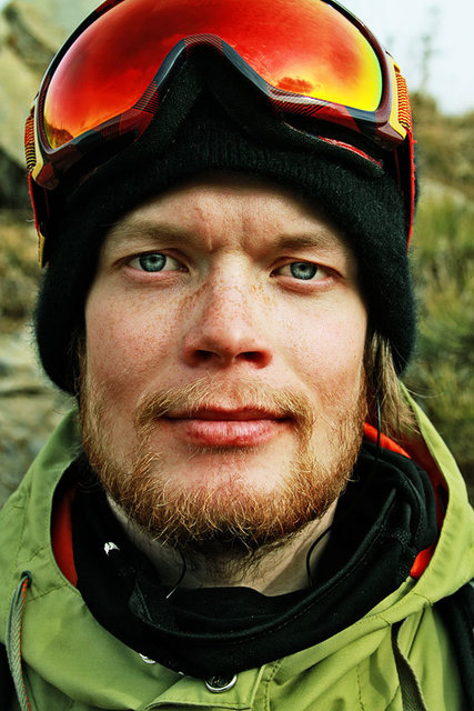Snowboarder, Antti Autti, from Finland,