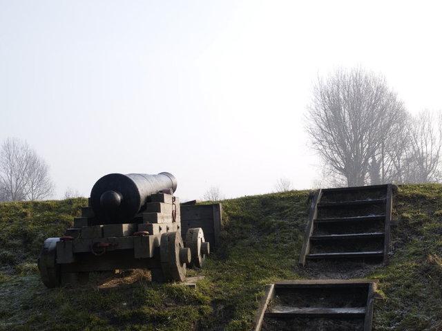 brielle kanon op vesting
