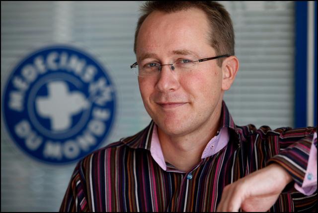 Olivier Bernard, president de Médecin du Monde