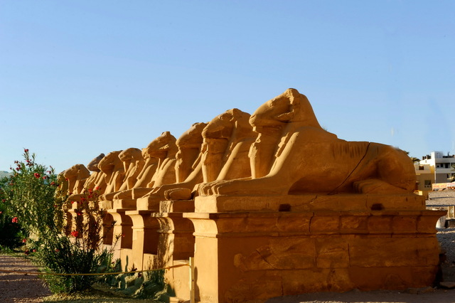 The Avenue of Sphinxes
