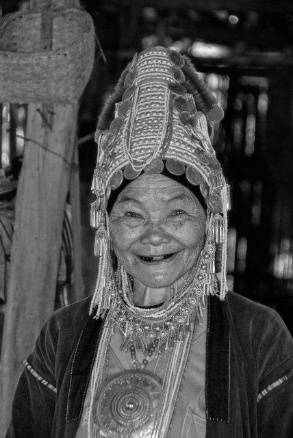 Padaung Or Karen Hill Tribe, Chiang Rai, Thialand