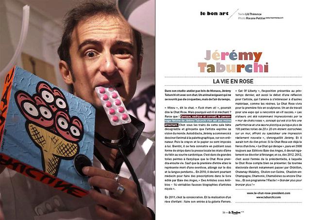 Portrait de Jérémy taburchi pour Le Bonbon