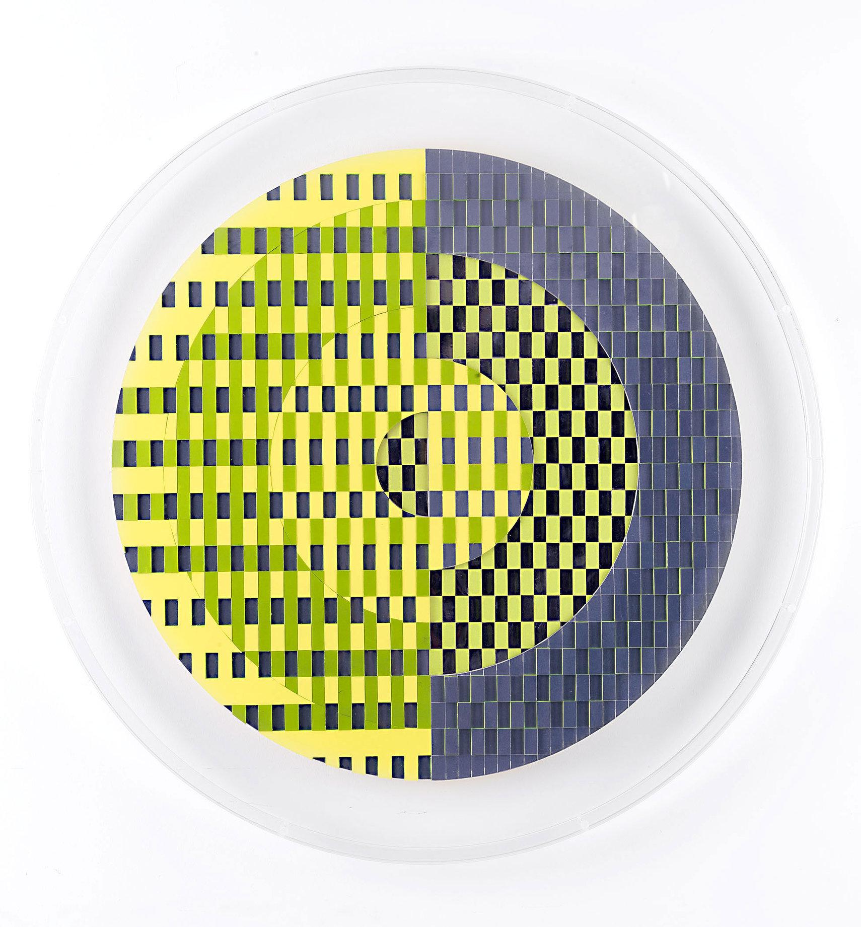 Francoise LUCIANI Cercle-vertjaune-1.-D60cm.jpg