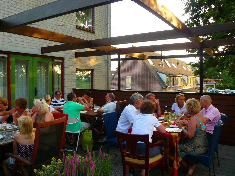 Pergola woning: View naar polder van Moerkapelle