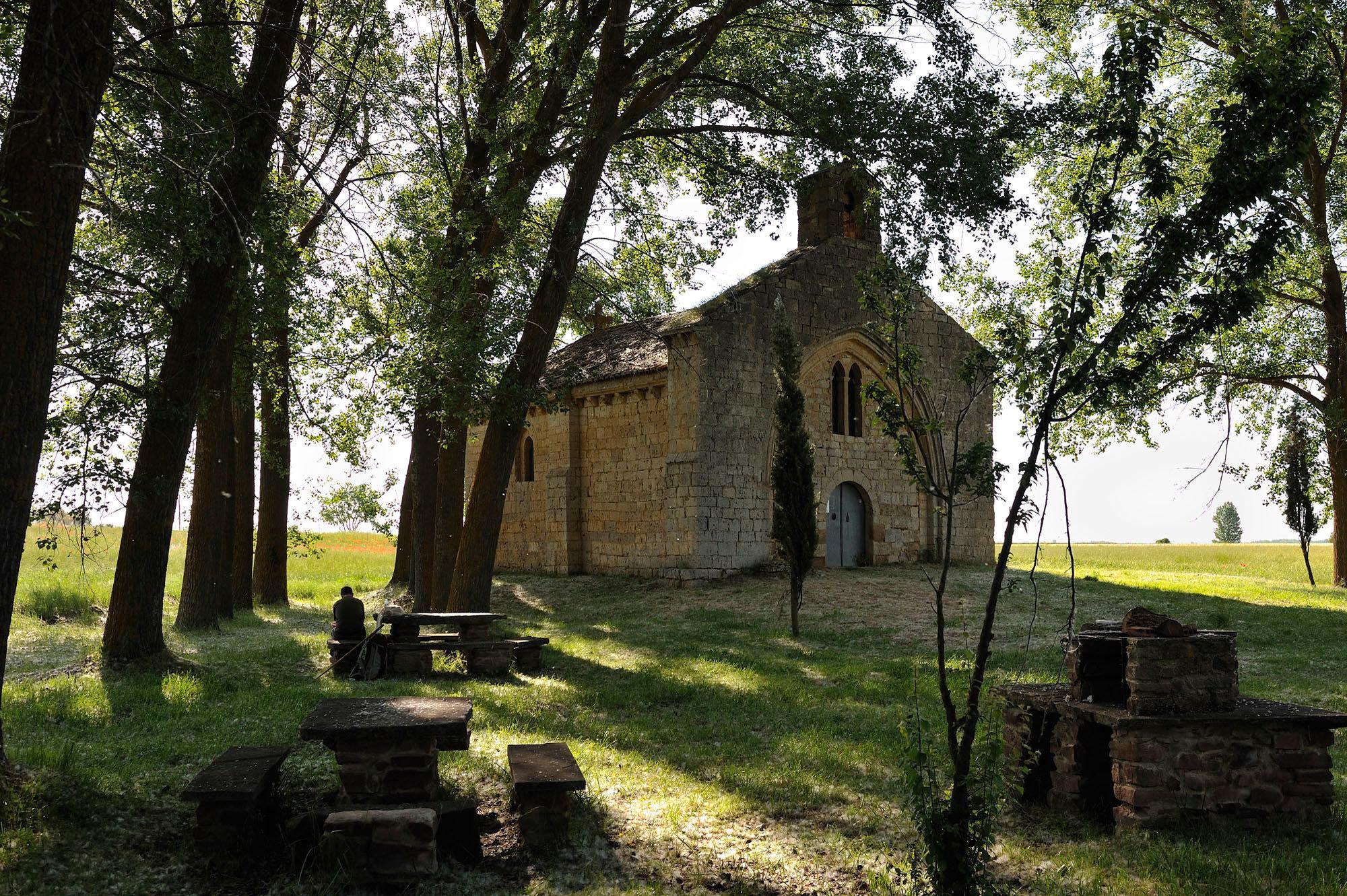 Chapelle San Miguel, Poblaciòn de Campos, entre Fromista et Carrion de los Condes, Castille
