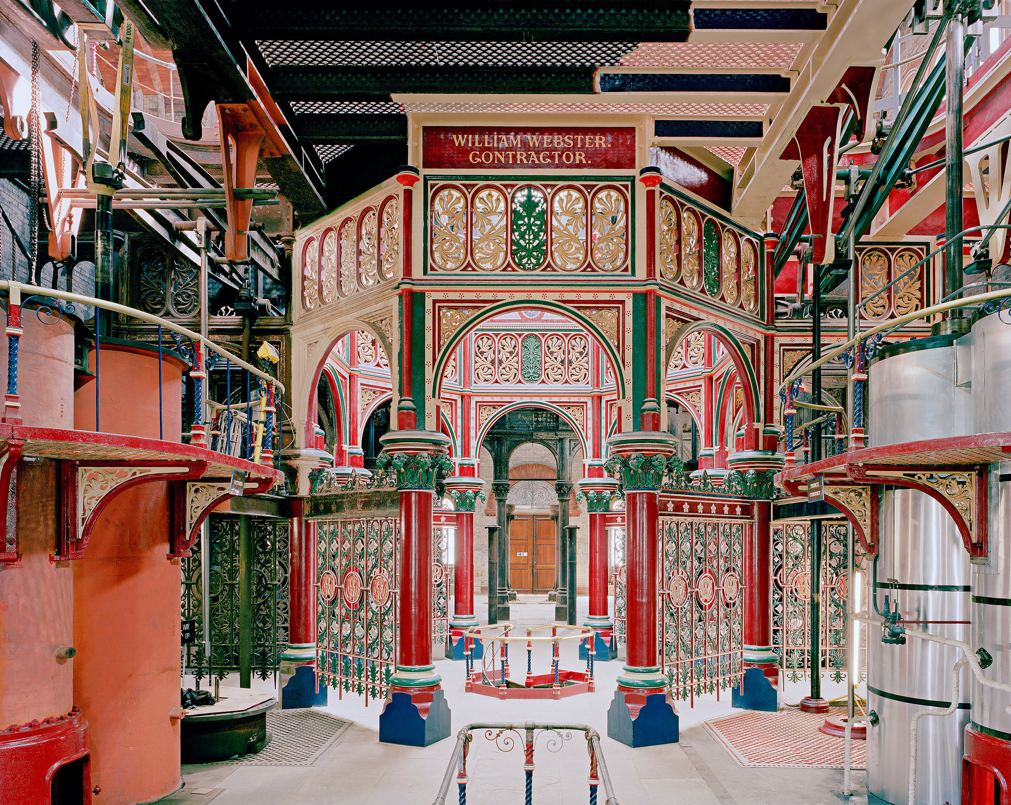 Beam Engine House, Crossness Pumping Station, London