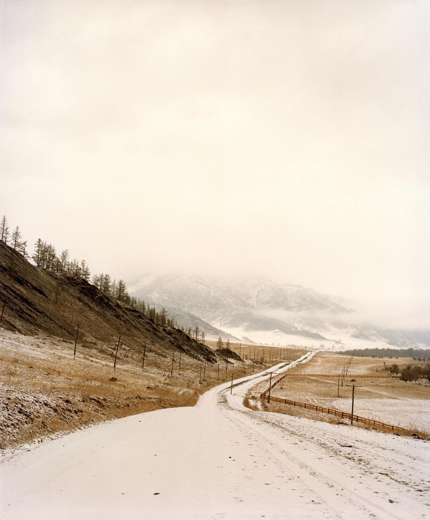 Road to Altai © Jeroen Toirkens