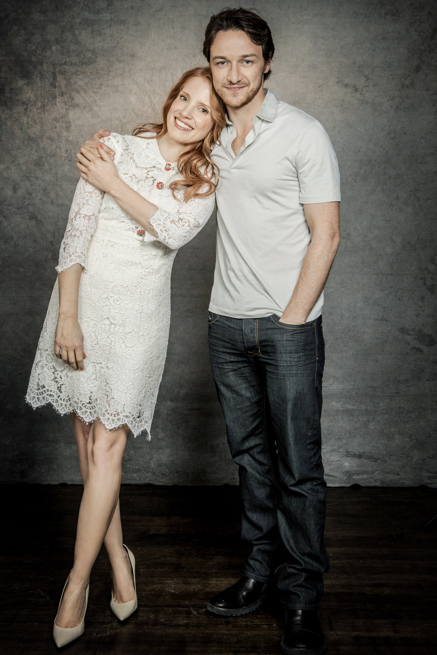 jessica chastain, james mcavoy, actors