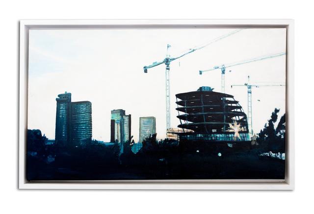 City Hall Cranes