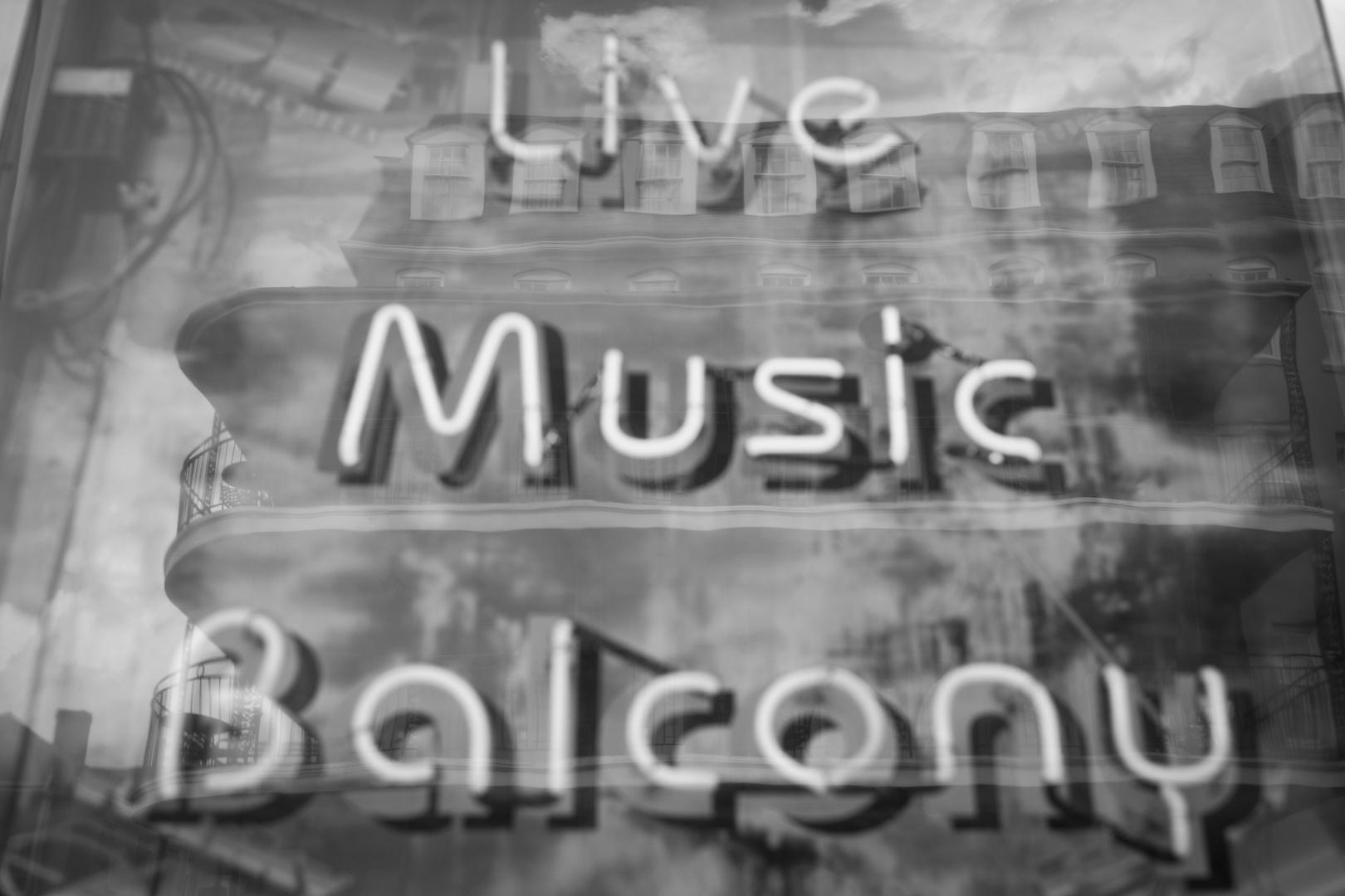 LIVE, MUSIC, BALCONY