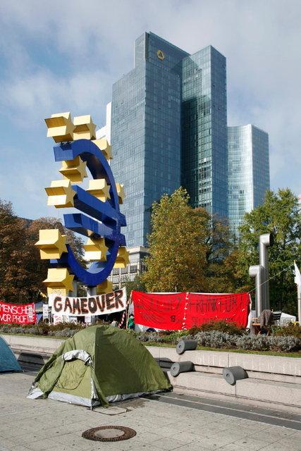 frankfurt - europese bank