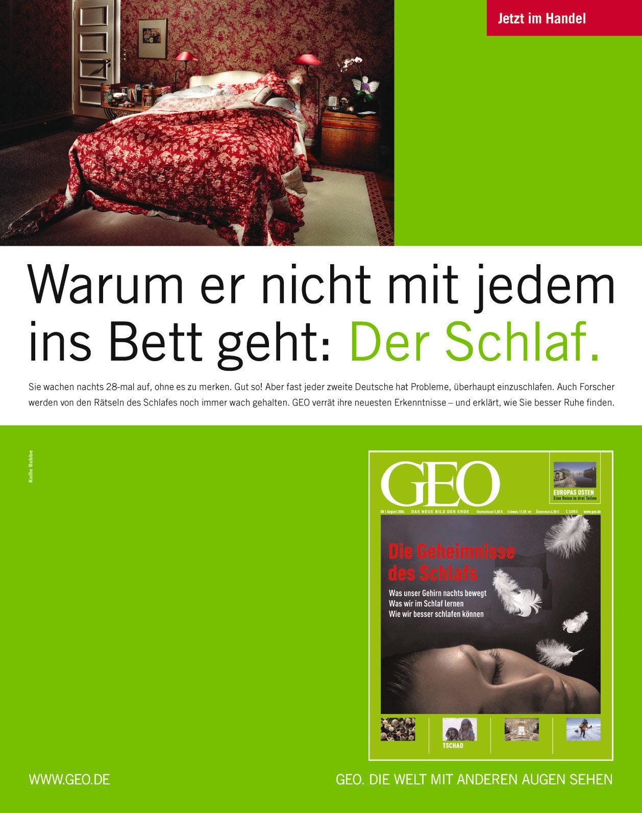 GEO / Heftanzeigen