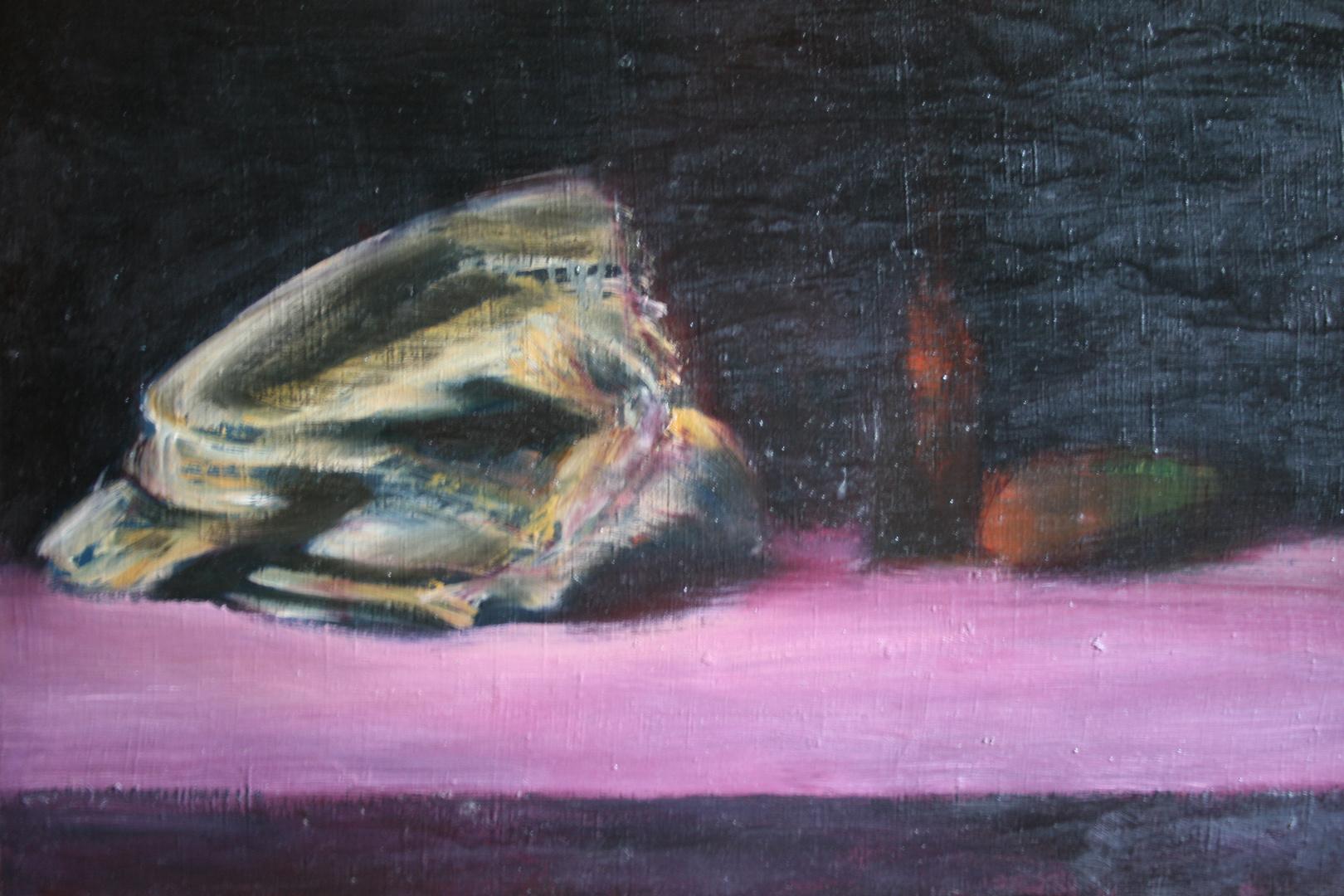 martwa natura 2, 74x60, olej/płótno,
