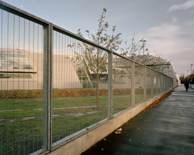 High security fencing, Evelyn Grace Academy, London, 2012
