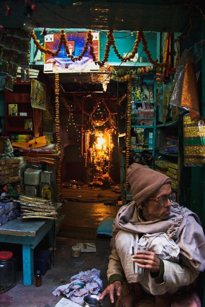 Vendedor em Benares