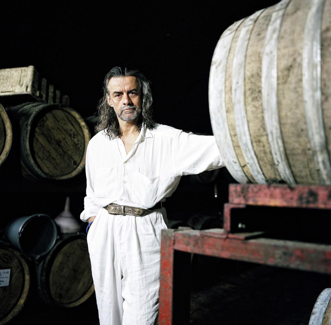 The wine consultant Conte Gelasio Gaetani d'Aragona Lovatelli, Argiano, 2006